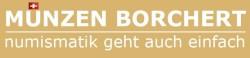 Münzen Borchert | Muenzenankauf + Goldschmuckankauf Luzern | Wir kaufen Goldmuenzen, Altgold, Schmuck, Silbergeld, Goldvreneli-Logo